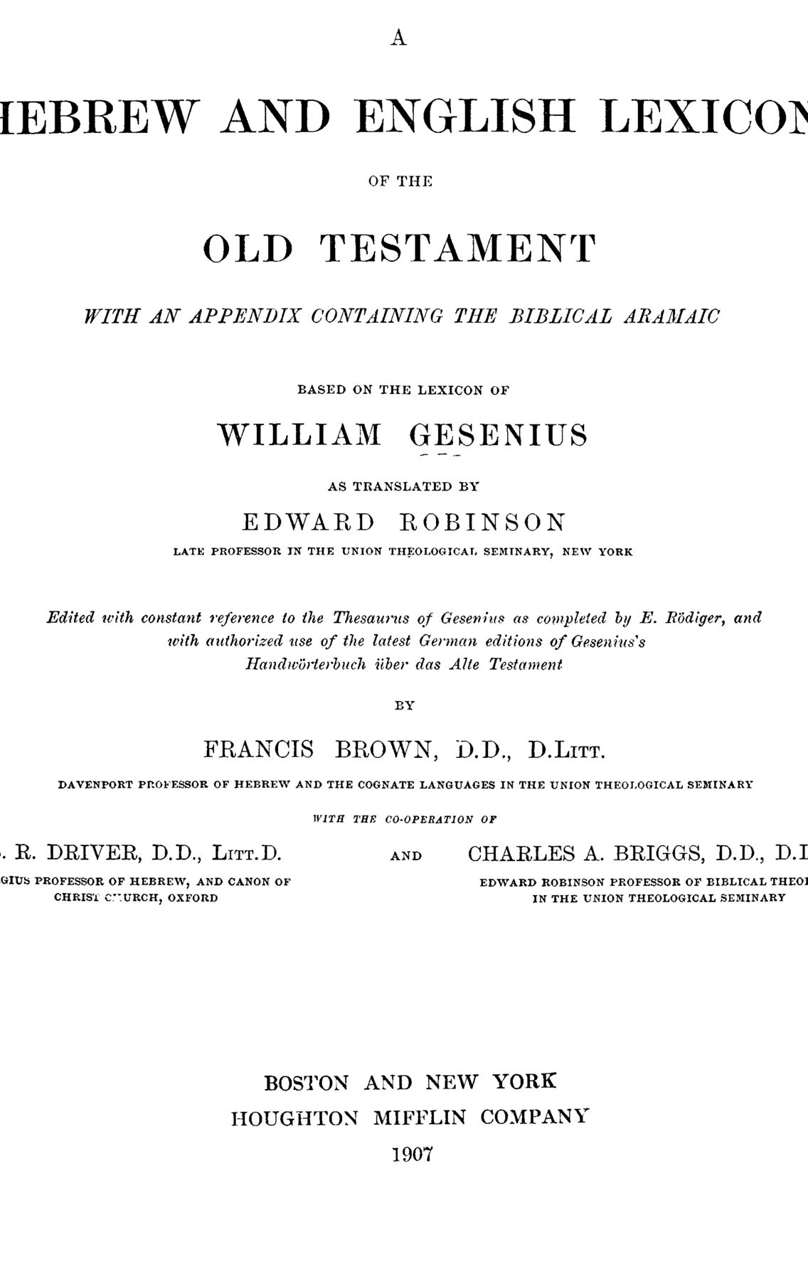 BDB - title - Page: title